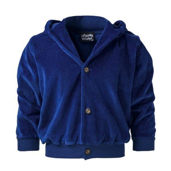 Blue Velvet Hoodie