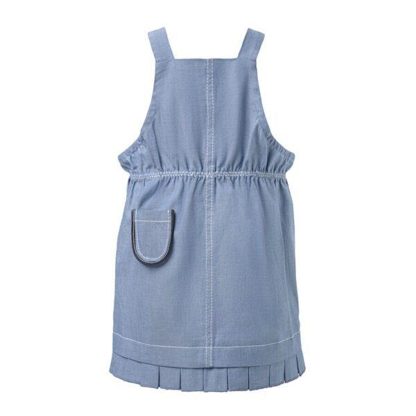 Blue Denim Baby Dress