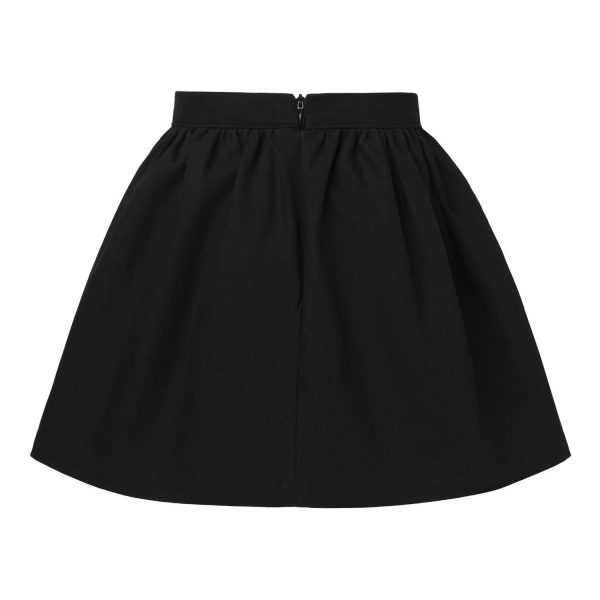 Black Skirt with Pocket