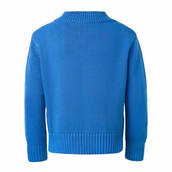 Blue Sweater With Panda