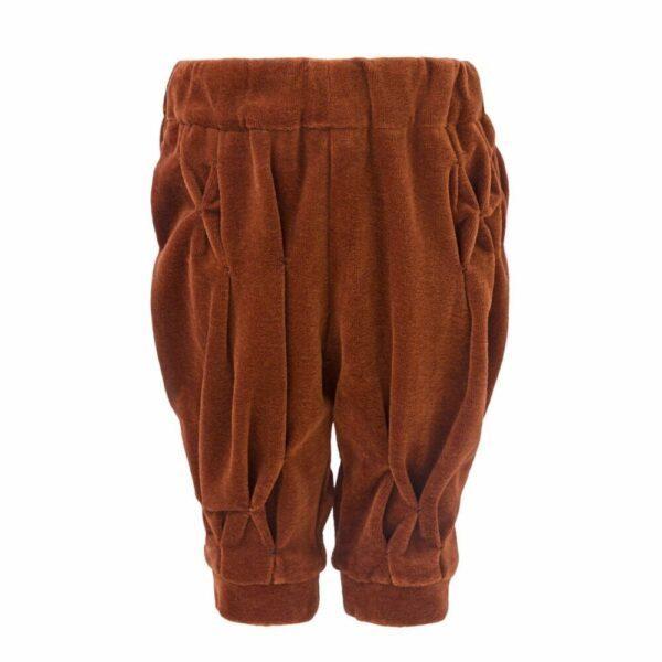 Copper Velvet Trousers