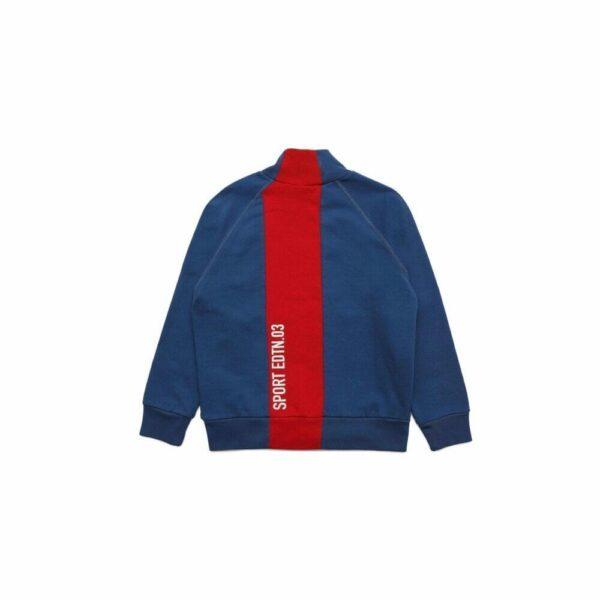 Colour Block Full Zip Sweatshirt