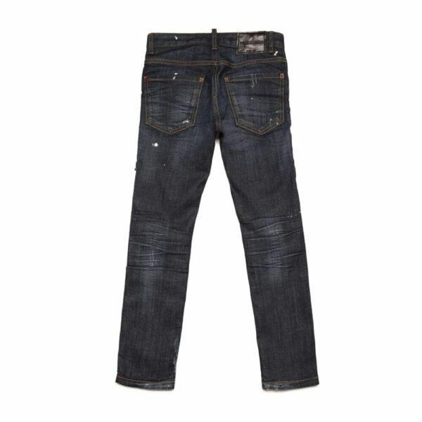 Regular Dark Blue Jeans
