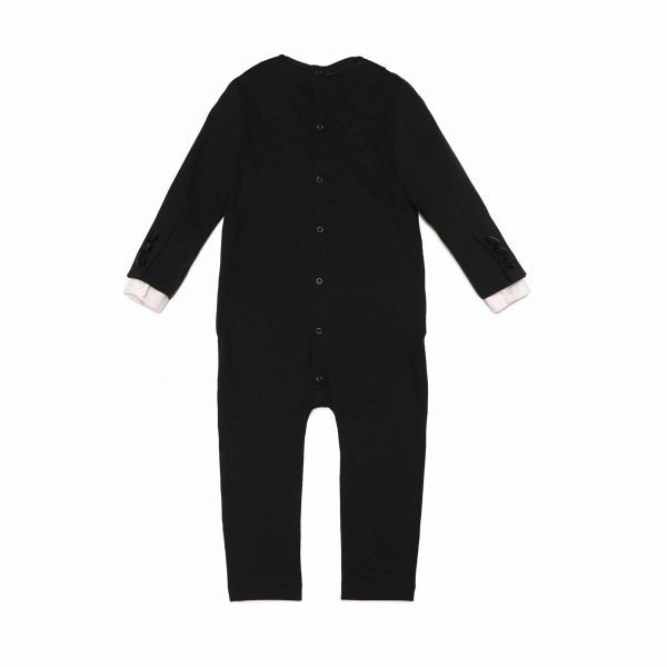 Black Tuxedo Babysuit