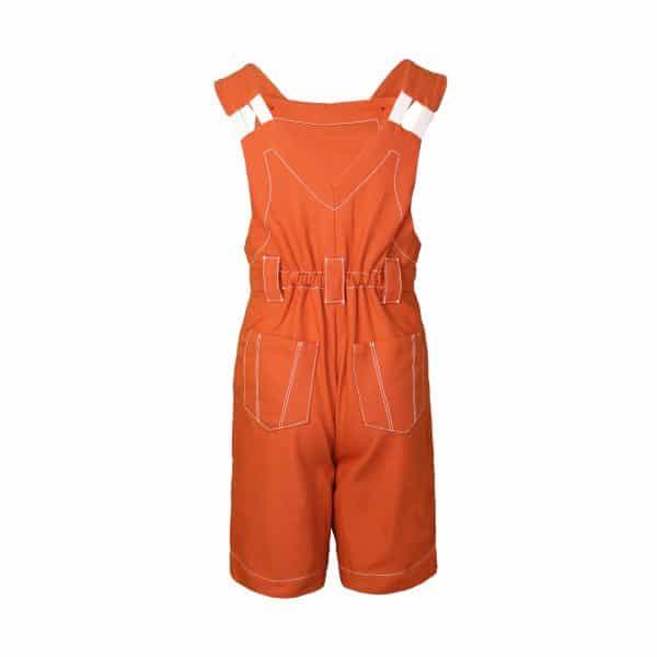 Unisex Orange Playsuit