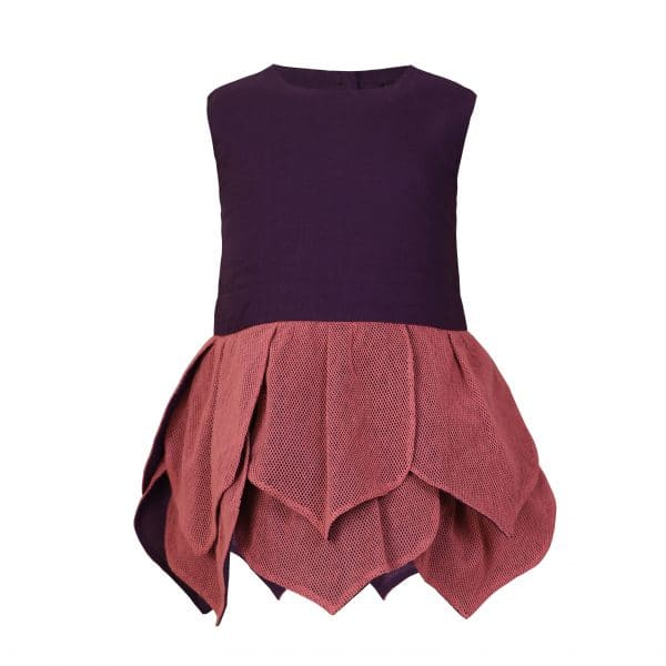 Baby Purple and Rose Dress