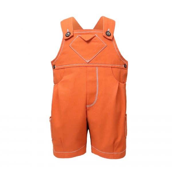 Baby Orange Playsuit