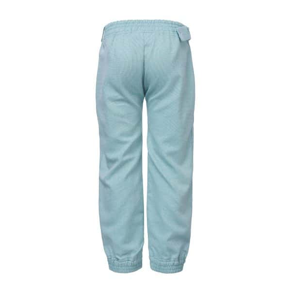 Unisex Green Cotton Trousers