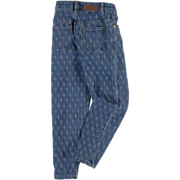 Jeans With Hole Pattern