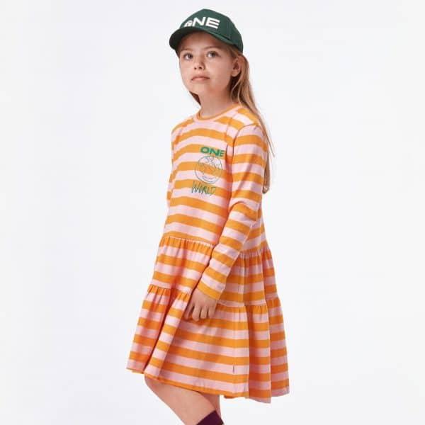 Striped Dress 'One World'