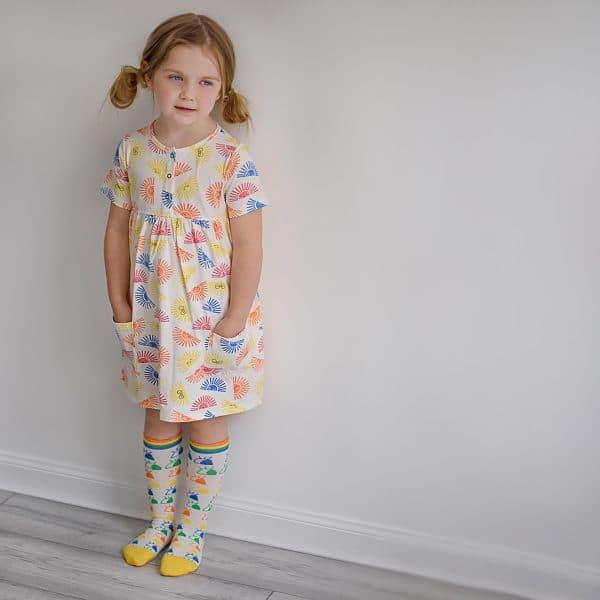 'Sunshine' Dress with Pockets