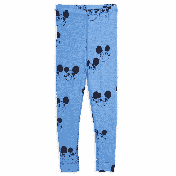 Wool Leggings With Ritzratz Print