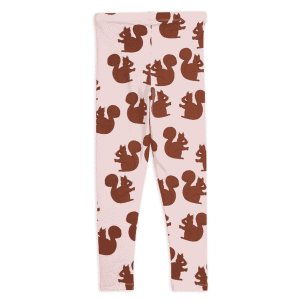 Rose Squirrels Leggings
