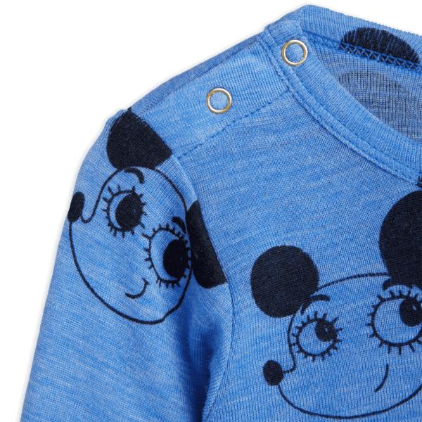 Wool Body With Ritzratz Print