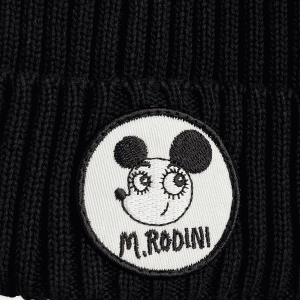 Black Hat With Mouse and Logo